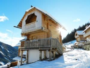 Chalet in the Swiss Alpes