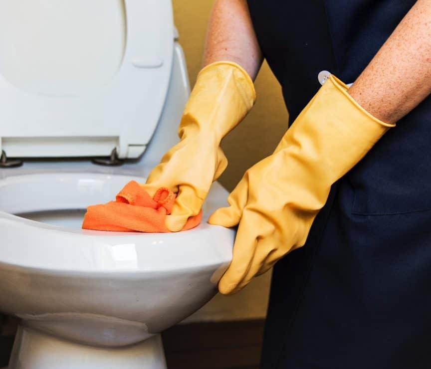 Sweating Toilet